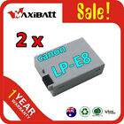 2XBattery FOR Canon LP-E8 LPE8 EOS 550 600D 650D Rebel T2i T3i T4i Kiss X4 X5 X6