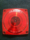 """BLAZER 4.5"""" RED LENS TRAILER TAIL LIGHTS STOP TURN TAIL FITS ALL 440/452 STYLE"""