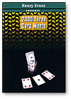 3 Card Monte 2000 by Henry Evans deck playing cards magic trick gaff