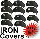 11 Golf Iron Head covers set For Titleist Ping Callaway Adams Nike Cobra 3-LW