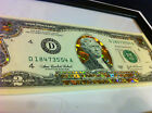 TWO$- 22 K GOLD 2 DOLLAR BILL-HOLOGRAM COLORIZED LEGAL NOTE- GOLD GIFT MONEY