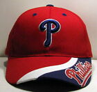 Philadelphia Phillies MLB Red White and Blue Cap Hat One Size NEW