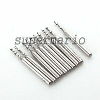 10 x 1.8mm High Quality NEW Carbide PCB Dremel Jewelry CNC Drill Bits Router