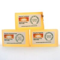 LARGE/OPEN/ BLOCKED PORES/ BLACKHEADS REMOVAL~Organic Soap Sample Pack~Oily Skin