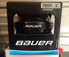 Bauer 7500 Black Hockey Helmet! NEW, ALL SIZES, SMALL MEDIUM & LARGE, SR