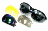 Daisy Biking,Driving Cycling Skiing Sport Sunglasses with 4 Lens Replacement