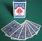 2 DECKS Bicycle DOUBLE BACK (BLUE) gaff magic playing cards