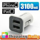 3.1Amp Dual Port USB Car Charger for iPad, iPhone, Android Smart Phone and Table
