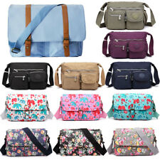 Mens Ladies Messenger Bag Retro Large Shoulder School Sport Laptop Tote Satchel