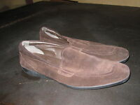 Men's Tod's brown suede driving shoes loafers  sz 10