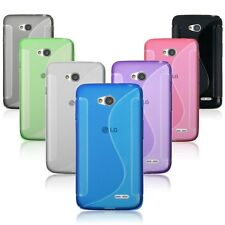 Soft TPU Silicone Rubber Gel Case Cover For LG Optimus L70 D325 MS323 Exceed 2