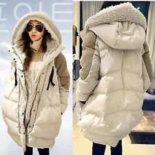 Women's Fashion Military Hooded Thick Winter Duck Down Coat Warm Casual Jacket