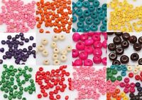 Hotsale 1000pcs Wood Seed Findings Spacer Beads 4x3mm For Jewelry Bracelet DIY
