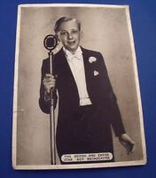HUGHIE GREEN SIGNED PHOTOGRAPH Autograph c.1935 BBC Radio Opportunity Knocks etc