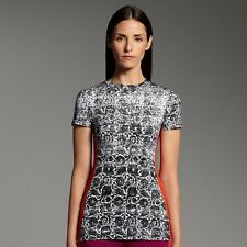 NWT$30 Narciso Rodriguez for DesigNation stylish floral tee top Medium M
