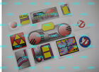 KENNER GHOSTBUSTERS PROTON PACK & PKE METER STICKERS Accessories