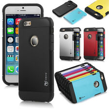 Hard Soft Shockproof Rugged Hybrid Rubber Hard Cover Case For Apple iPhone 6s