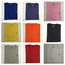 NWT Polo Ralph Lauren Men's Short Sleeve Pony Classic Fit Crew Neck T-Shirt tee