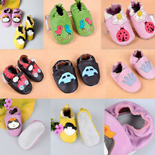 Soft Sole Leather Girls Boys Baby Infant Toddler Shoes crib shoes 0-18month New