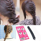 Fashion Lady Magic Hair Twist Styling Clip Stick Bun Maker Braid Tool