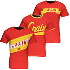 Soul Star Mens Spain Soccer World Cup 2014 Brazil T-Shirt Tee Top New