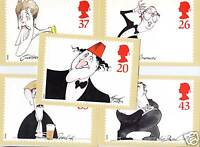 GB PHQ Cards set (5) 1998 COMEDIANS  SG 2041/5 Mint