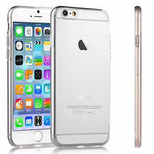 Ultra Thin SOFT TPU Silicon Gel CLEAR Case Cover for Apple iPhone & Samsung