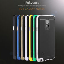 Hybrid Hard Bumper Soft Rubber Skin Case Cover For Samsung Galaxy Note4 S5 S6 *@
