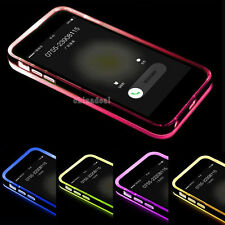 For iPhone 6 4.7 Plus 5.5 Ultra Thin Clear Crystal TPU Hybrid Bumper Case Cover