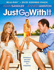 Just Go With It (Blu-ray/DVD, 2011, 2-Disc Set) Factory Sealed Brand New