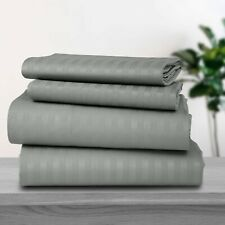 1800 Series Lux Decor Collection 4 Piece Bed Sheet Set Deep Pocket ALL Sizes