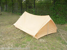 French Military Desert Tent 2 Man Light Weight Single Skin Camping Expedition