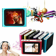 "6TH GENERATION MP3 MP4 MUSIC MEDIA PLAYER FM Games Movie Player 1.8""LCD SCREEN"
