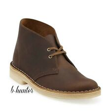 New CLARKS Womens Originals Desert Boot Beeswax Leather Lace Up Shoes 26111499
