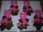 FELT BOARD STORY RHYME TEACHER RESOURCE - 5 FIVE LITTLE PIGS