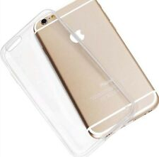 Ultra Thin Soft Gel Silicone Case Clear Cover Apple iPhone 4 4s 5 5s 6 6s Plus