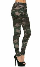 HOT NEW SEXY G.I. Jane High Waisted Camouflage Leggings (Plus Sizes Available)