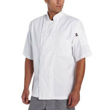 Dickies Chef Donatello Short Sleeve Coat 8 button Unisex Chef Jacket DC124