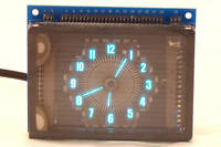VFD ROUND 2 ALARM DIGITAL CLOCK KIT   NIXIE TUBE ERA