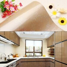 YAZI Gloss Peony Kitchen Adhesive Furniture Vinyl Cupboard Door Cover Sticker
