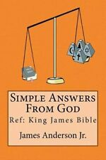 Simple Answers from God: This Book Gives Easily Understood Bible Verses That...