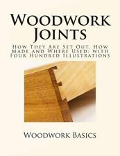 Woodwork Joints: How They Are Set Out, How Made and Where Used; With Four...