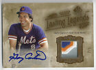 2005 SP Legendary Cuts Gary Carter Lasting Legends Patch Autograph #d to 5 Expos