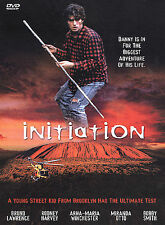 THE INITIATION*DVD*Bruno Lawrence*RARE & OOP*AUSTRAILIA*FAST FREE SHIPPING*