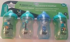 Tommee Tippee 4 pk 10oz Sippy Sipper Cups. Blues.