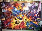 1994 Fleer Ultra X-Men TEAM PORTRAIT chase Set! WOLVERINE! CYCLOPS! BEAST! STORM