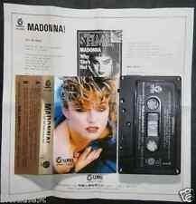 MADONNA Into The Groove/Angel/Dress You Up 3-TRACK ASIAN CASSETTE SINGLE #1