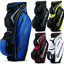"""NEW 2016"" TAYLORMADE SAN CLEMENTE 14 WAY DIVIDER GOLF TROLLEY / CART BAG"