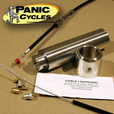 "INTERNAL THROTTLE KIT FITS 1"" BARS - HARLEY TRIUMPH XS650 BSA BOBBER CHOPPER"