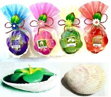 Aroma Mixed Fragrance Candle Flower Scent In Seashell Holder Cute Gift
